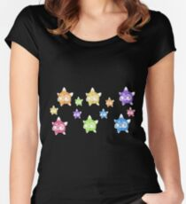 Minior Rainbow Women's Fitted Scoop T-Shirt