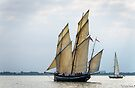 All Fair for Greenwich Tonight ~ Tall Ships Regatta 2014 by MarcW