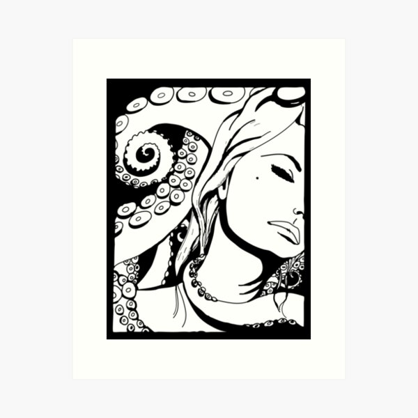 steampunk sophia Art Print