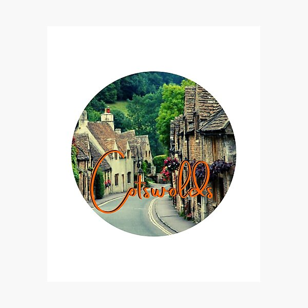 Cotswolds Photographic Print