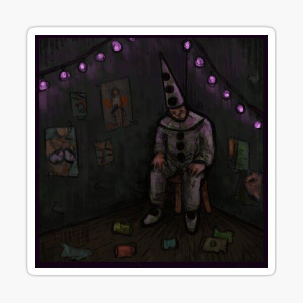 Clownzimmer Sticker