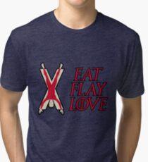 Essen, Flay, Liebe Vintage T-Shirt