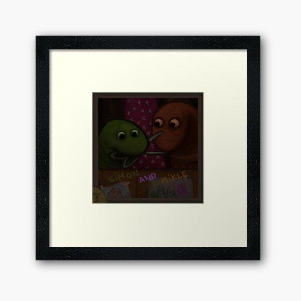 Simon and Mikle Framed Art Print