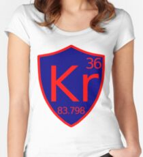 KRYPTON Women's Fitted Scoop T-Shirt