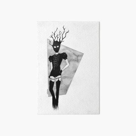 demons of quarantine - demon of horny jail Art Board Print