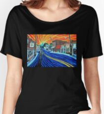 'SUNRISE SONG FOR NoDa IN THE 90s' Women's Relaxed Fit T-Shirt