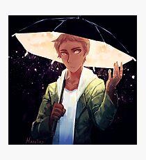 Starry Umbrella Photographic Print