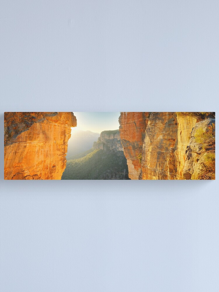 Alternate view of Between Cliffs, Blue Mountains, New South Wales, Australia Canvas Print
