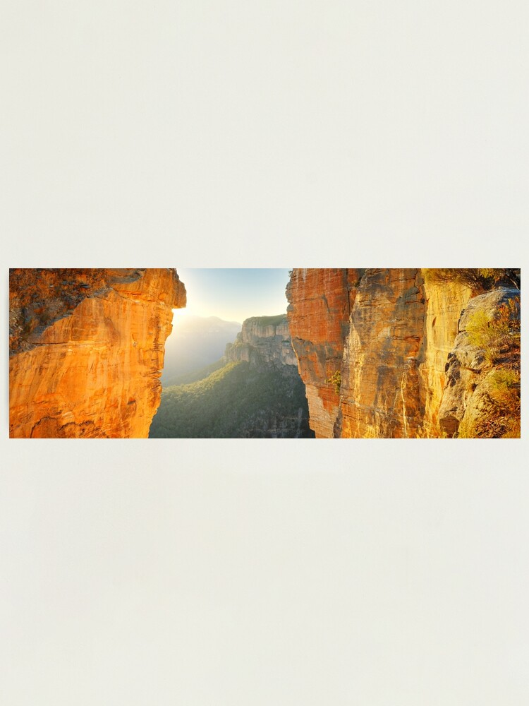 Alternate view of Between Cliffs, Blue Mountains, New South Wales, Australia Photographic Print