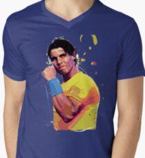 Rafa Nadal Men's V-Neck T-Shirt