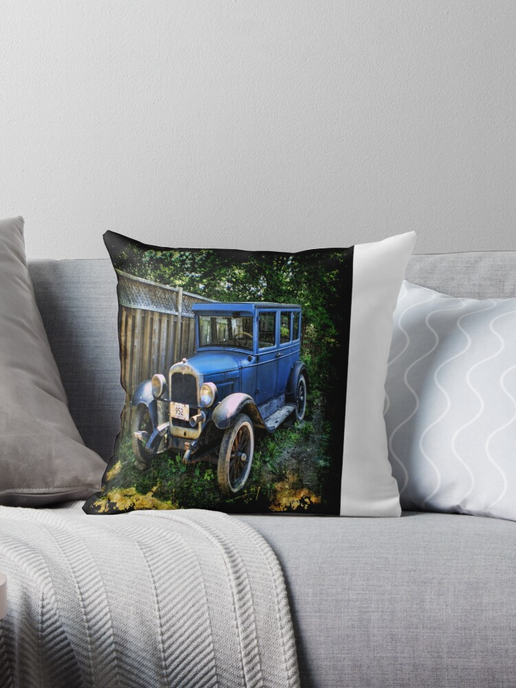 1926 Ford Chevy Model T Coupe Throw Pillow by ✿✿ Bonita ✿✿ ђєℓℓσ