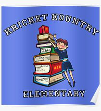 KRICKET KOUNTRY ELEMENTARY: Readers Rock the World! Poster