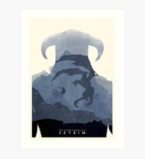 Skyrim II Art Print