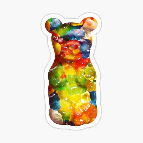 Rainbow Gummy Bear Sticker