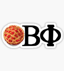 Pie Phi Sticker