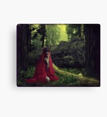 For a Long Time, I Went to Bed Early Canvas Print