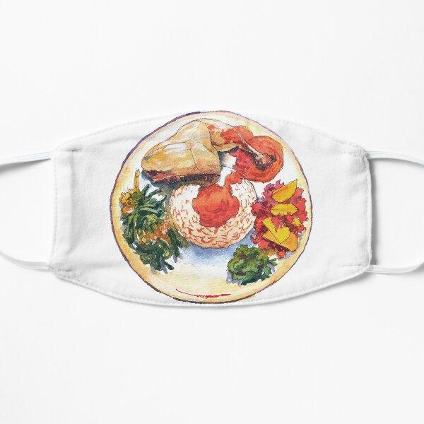 Ayam Pop - Indonesian Food Flat Mask