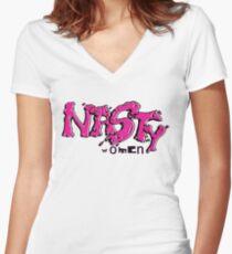 Nasty Women Women's Fitted V-Neck T-Shirt