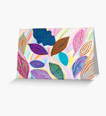 Leaves 2 - Heather  Greeting Card