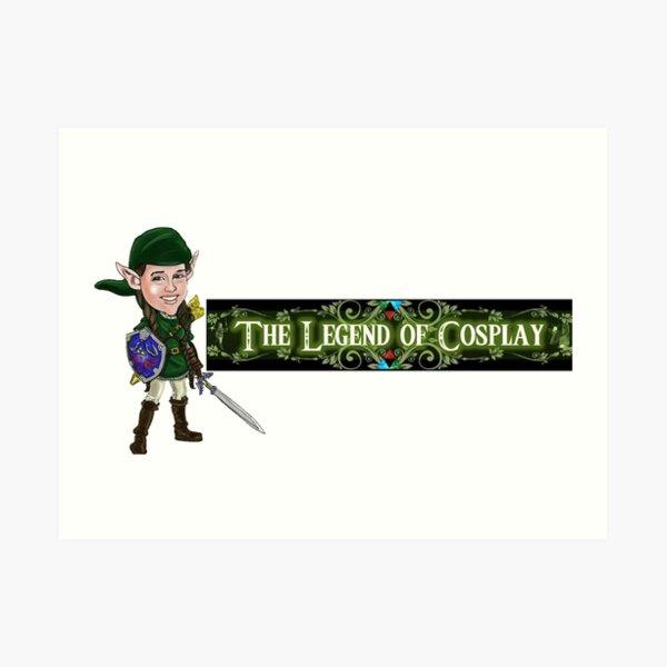 Legend of Cosplay - Cartoon Linksliltri4ce Art Print