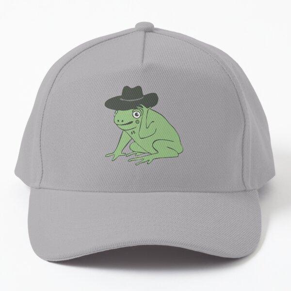 frog cowboy illustration | color Baseball Cap