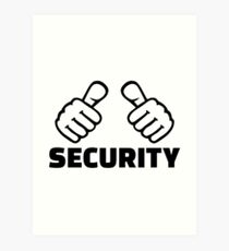 Security Art Print