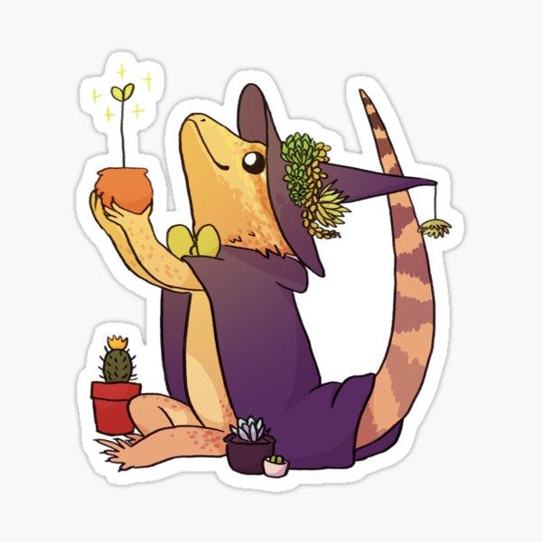 Bearded Dragon - Charlie Sticker