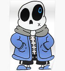 Skull Boy Poster