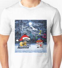 Cats Sing Christmas Carols Unisex T-Shirt