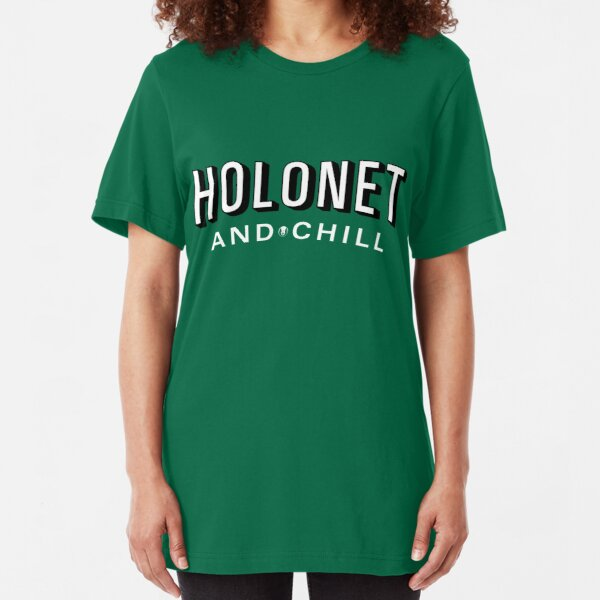Holonet and Chill Slim Fit T-Shirt
