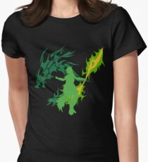 The Emerald Tusk Disciple Womens Fitted T-Shirt