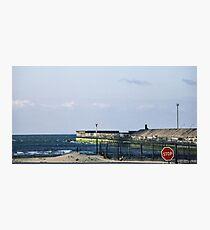 The Hovercraft port Boulogne France 19840509 0001  Photographic Print