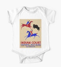 Vintage poster - Indian Court Federal Building Kids Clothes