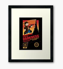 Tower of Darkness Framed Print