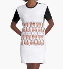 Greek Goddess Graphic T-Shirt Dress