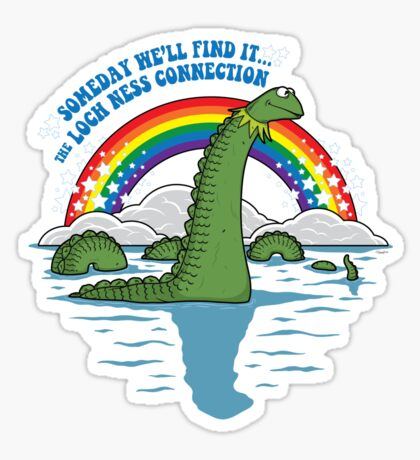 The Lochness Connection Sticker