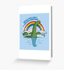 The Lochness Connection Greeting Card