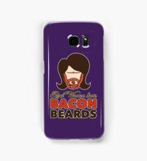Bacon Beard (women's version) Samsung Galaxy Case/Skin
