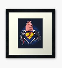 Super Bacon Framed Print