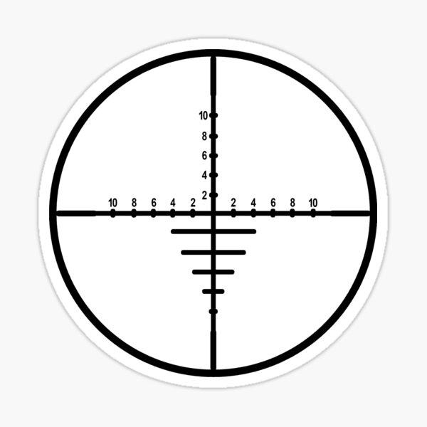 Sniper Crosshair Sticker