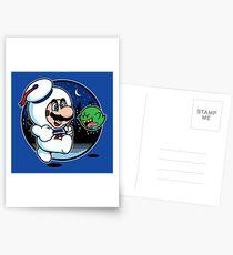 Super Marshmallow Bros. Postcards