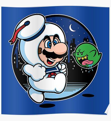 Super Marshmallow Bros. Poster