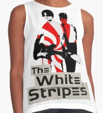 The White Stripes - Pepermint Tape Contrast Tank