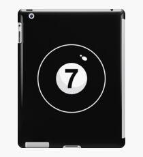 Black Seven iPad Case/Skin