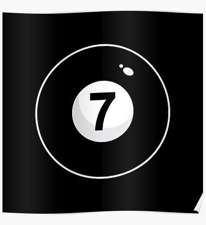 Black Seven Poster