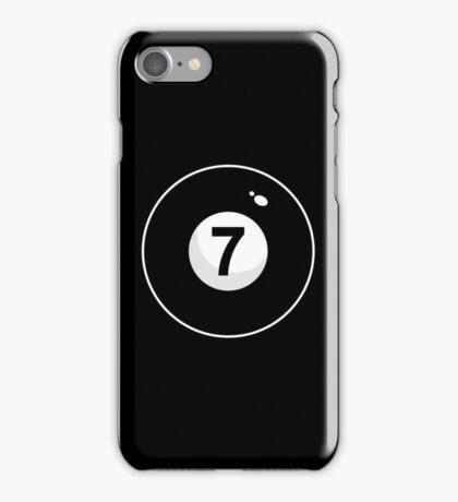 Black Seven iPhone Case/Skin
