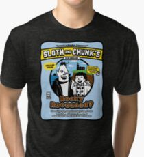 Sloth and Chunk's Ice Cream Tri-blend T-Shirt