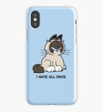 Always Grumpy iPhone Case/Skin
