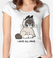 Always Grumpy Women's Fitted Scoop T-Shirt