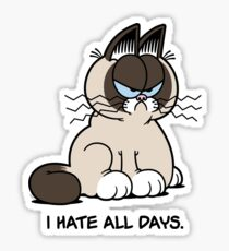 Always Grumpy Sticker